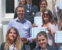 Bournemouth Students present Earth Charter Awards