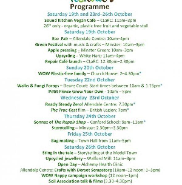 Wimborne Green Festival